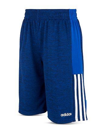 Adidas - Boys' Melange Mesh Shorts - Little Kid
