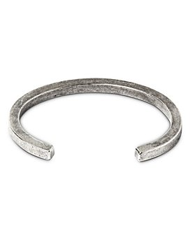 THE MONOTYPE - Silver-Plated Brass Tyler Square Cuff Bracelet
