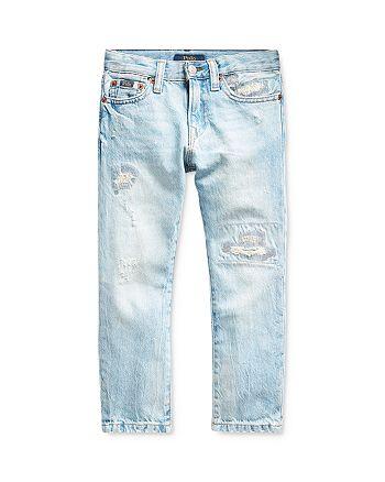 Ralph Lauren - Boys' Sullivan Cotton Slim-Straight Distressed Jeans - Little Kid