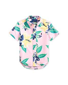 Ralph Lauren - Boys' Cotton Tropical Flower Polo Shirt - Little Kid
