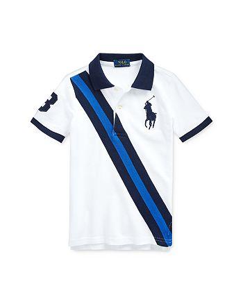 Ralph Lauren - Boys' Cotton Striped Polo Shirt - Little Kid