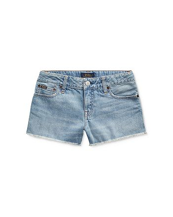 Ralph Lauren - Girls' Jean Shorts - Big Kid