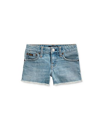 Ralph Lauren - Girls' Jean Shorts - Little Kid