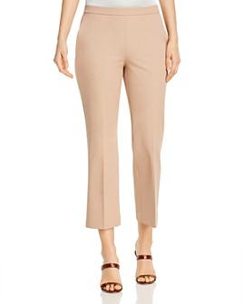 Eileen Fisher - High-Waisted Cropped Pants