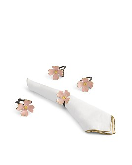 Michael Aram - Pink Dogwood Napkin Rings, Set of 4 - 100% Exclusive