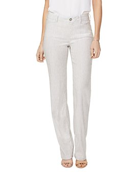 NYDJ - Stretch-Linen Trousers