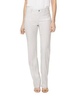NYDJ - Stretch-Linen Trousers