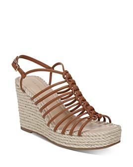 Via Spiga - Women's Selma Strappy Espadrille Wedge Sandals