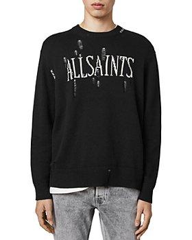ALLSAINTS - Destroy Saints Cotton Sweatshirt