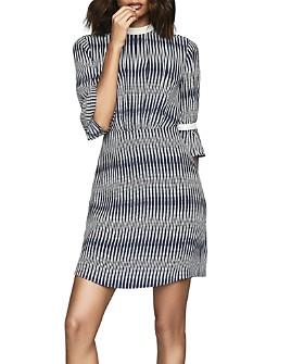 REISS - Nika Geo-Printed Dress