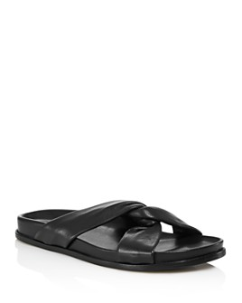 Elleme - Women's Tresse Knotted Slide Sandals