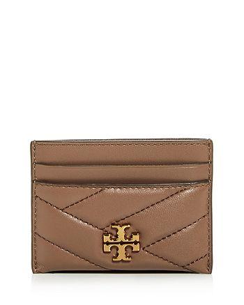 Tory Burch - Kira Chevron Leather Card Case
