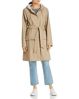 Rains - Belted Rain Jacket