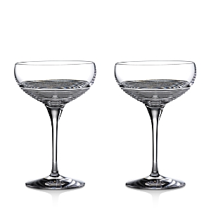 Waterford Mixology Circon Coupe Glasses, Set of 2-Home