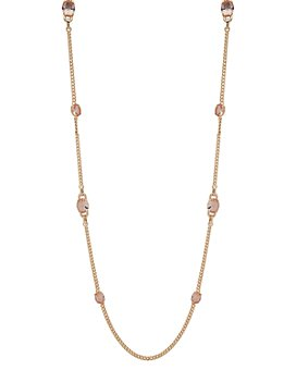 Ralph Lauren - Gold-Tone Stone Strand Necklace, 42""