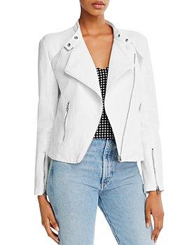 BLANKNYC - Cropped Moto Jacket