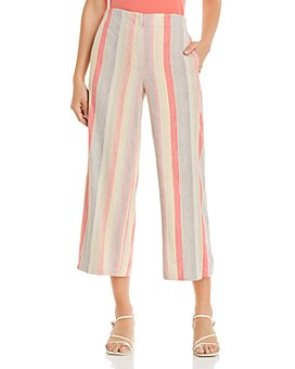 NIC and ZOE - Sweet Clover Cropped Wide-Leg Pants