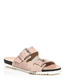 Charles David - Women's Lonnie Croc-Embossed Sandals