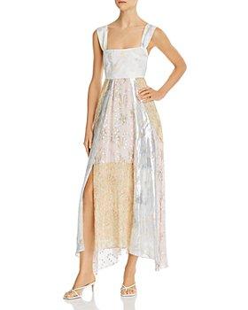 Rebecca Taylor - Mixed Prints Dress