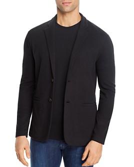 Armani - Soft Textured Regular Fit Blazer