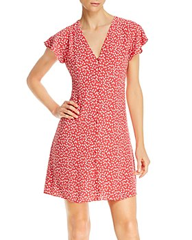 Rails - Helena Floral Button-Front Dress