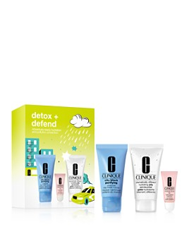 Clinique - Detox + Defend Set