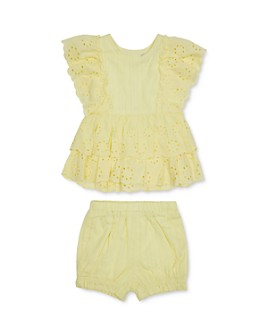 Habitual Kids - Girls' Amanda Eyelet Top & Shorts Set - Little Kid