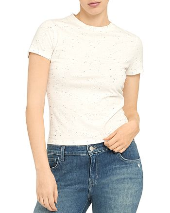 Theory - Speckle Print Tee
