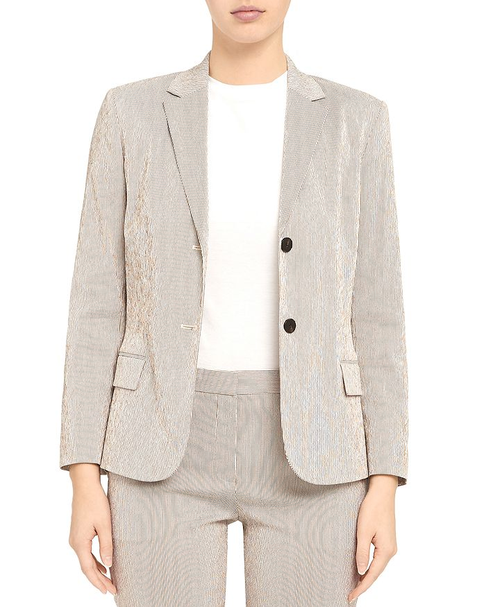 Theory - Shrunken Tailored Jacket