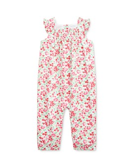 Ralph Lauren - Girls' Cotton Floral-Print Coveralls - Baby