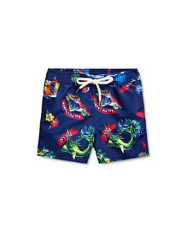 Ralph Lauren - Boys' Tropical-Print Swim Trunks - Baby