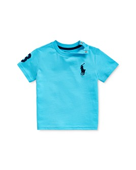 Ralph Lauren - Boys' Cotton Logo Graphic Tee - Baby