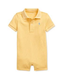 Ralph Lauren - Boys' Cotton Interlock Polo Shortalls - Baby