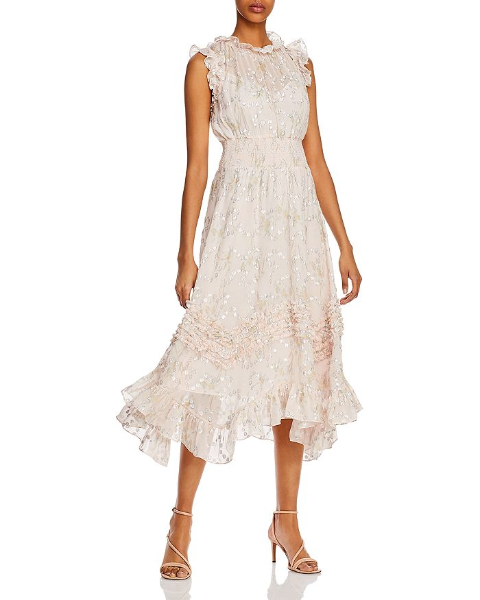 Rebecca Taylor - Ruffled Smocked Dress