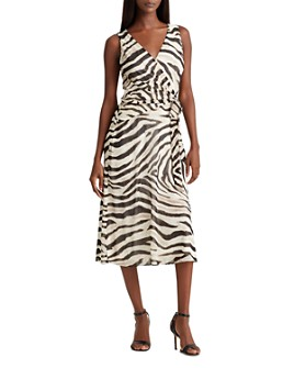 Ralph Lauren - Zebra-Print A-Line Dress