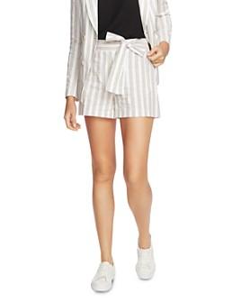 1.STATE - Duet Modern Striped Shorts