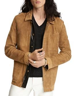John Varvatos Collection - Sheep Skin Regular Fit Workwear Jacket