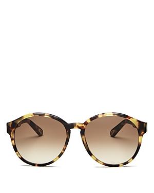 Chloe Women's Willow Round Sunglasses, 57mm