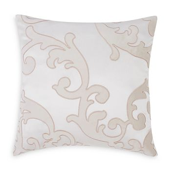 "Charisma - Melange Scroll Decorative Pillow, 20"" x 20"""
