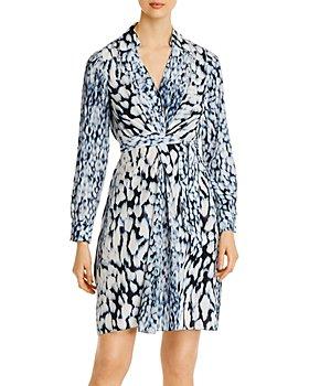 Elie Tahari - Saxon Printed Shirt Dress