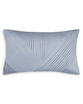 "Charisma - Celini Pleated Decorative Pillow, 12"" x 16"""