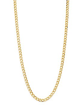 "Bloomingdale's - 14K Yellow Gold Solid Curb Chain Necklace, 20"" - 100% Exclusive"