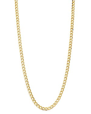 Bloomingdale's 14K Yellow Gold Solid Curb Chain Necklace, 20 - 100% Exclusive