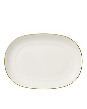 Villeroy & Boch - Anmut Gold Pickle Dish / Gravy Stand