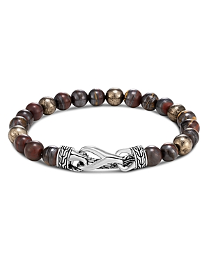 John Hardy Sterling Silver Classic Chain Pyrite Bead Bracelet-Jewelry & Accessories