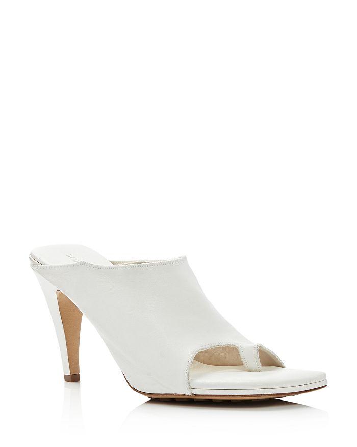 Bottega Veneta - Women's Square-Toe High-Heel Sandals