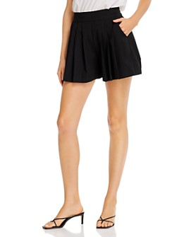 AQUA - Pull-On Pleated Shorts - 100% Exclusive