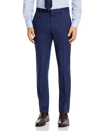 Theory - Zaine Tonal Windowpane Extra Slim Fit Suit Pants