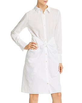 Rebecca Taylor - Twisted-Front Shirtdress