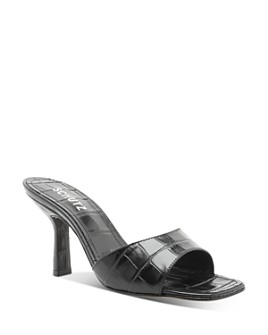 SCHUTZ - Women's Posseni Slip On High-Heel Sandals